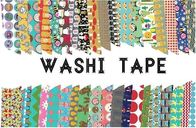 Adhesive Scotch Tape Label Waterproof Masking Printed Washi Paper