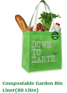 Biodegradable Rubbish Bags , Biodegradable Food Bags Canvas Cotton Non Woven