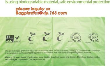 Sacs biodégradables de compost